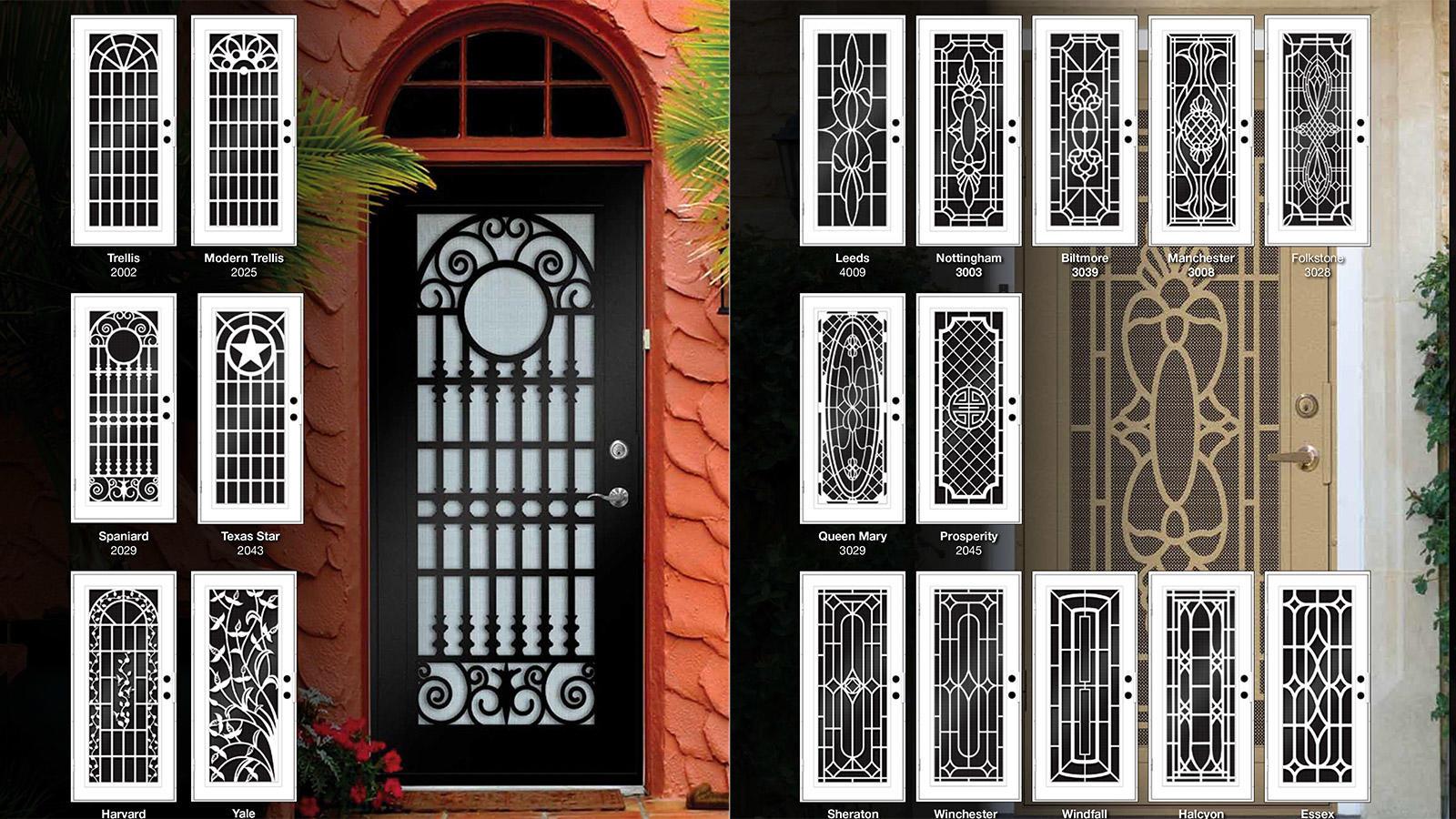Energy Shield Window U0026 Door Company Is Proud To Be A Distributor Of Titan  Security Doors. These Doors Are Truly Works Of Art.