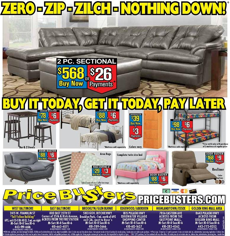 Price Busters Discount Furniture At 800 East 25th Street Baltimore Md On Fave