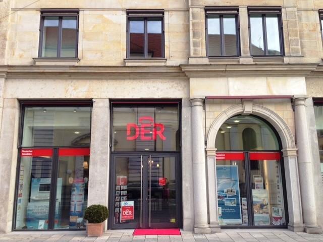 DER Deutsches Reisebüro, Promenadeplatz 12 in München