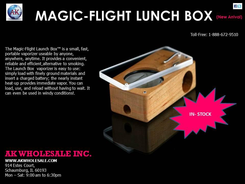magic -flight lunch box
