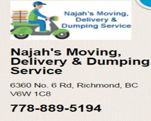 Najah's Moving, Delivery & Dumping Service