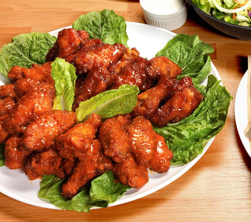 Our wings are delicious with our Original Amazing Sauce!