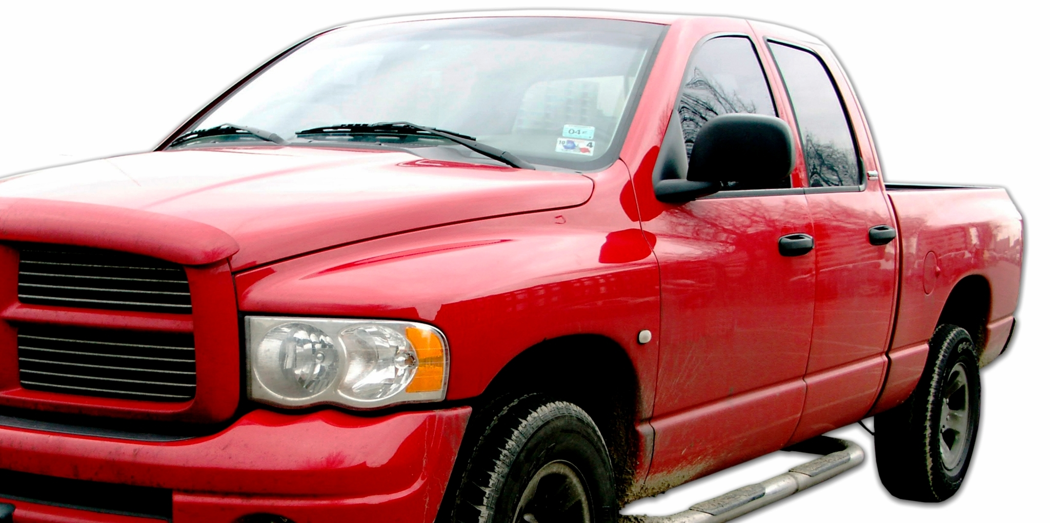 Hi-Tech Paint & Collision Ltd in Medicine Hat: Red Truck fixed