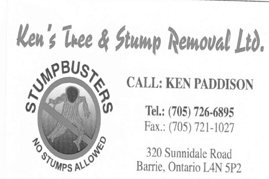 Ken's Tree & Stump Removal Ltd