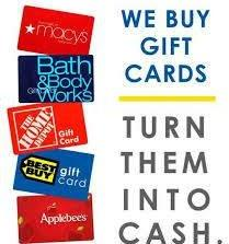 GiftCardBin is the place to go to sell your gift cards from major retailers. Maybe your grandmother gave you a gift card for your birthday to a store that you don't like, or you got a gift card as a reward for signing up for a loyalty program that you'll never use.