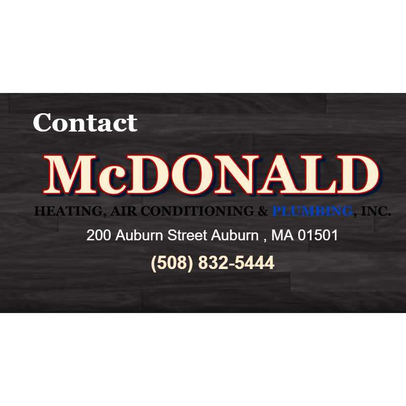 McDonald Heating Air Conditioning Plumbing, Inc.