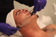 Microcurrent is a low-level current applied topically to skin that mimics the body's molecular current and can provide both instant and cumulative anti-aging results. Age-related benefits of microcurrent are realized in improvement of most cellular activity, increased levels of collagen and elastin production; healing and skin regeneration.