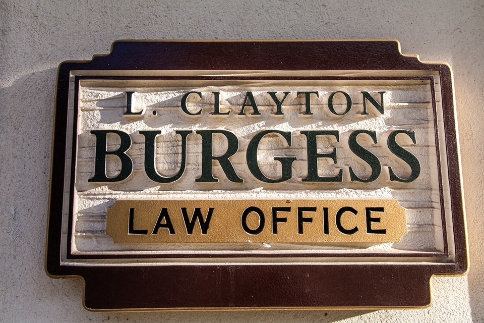 The Law Offices of L. Clayton Burgess - ad image