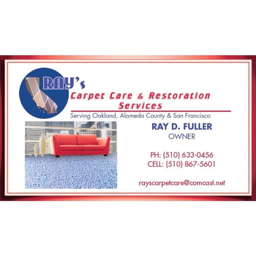 Ray's Carpet Care & Restoration Services