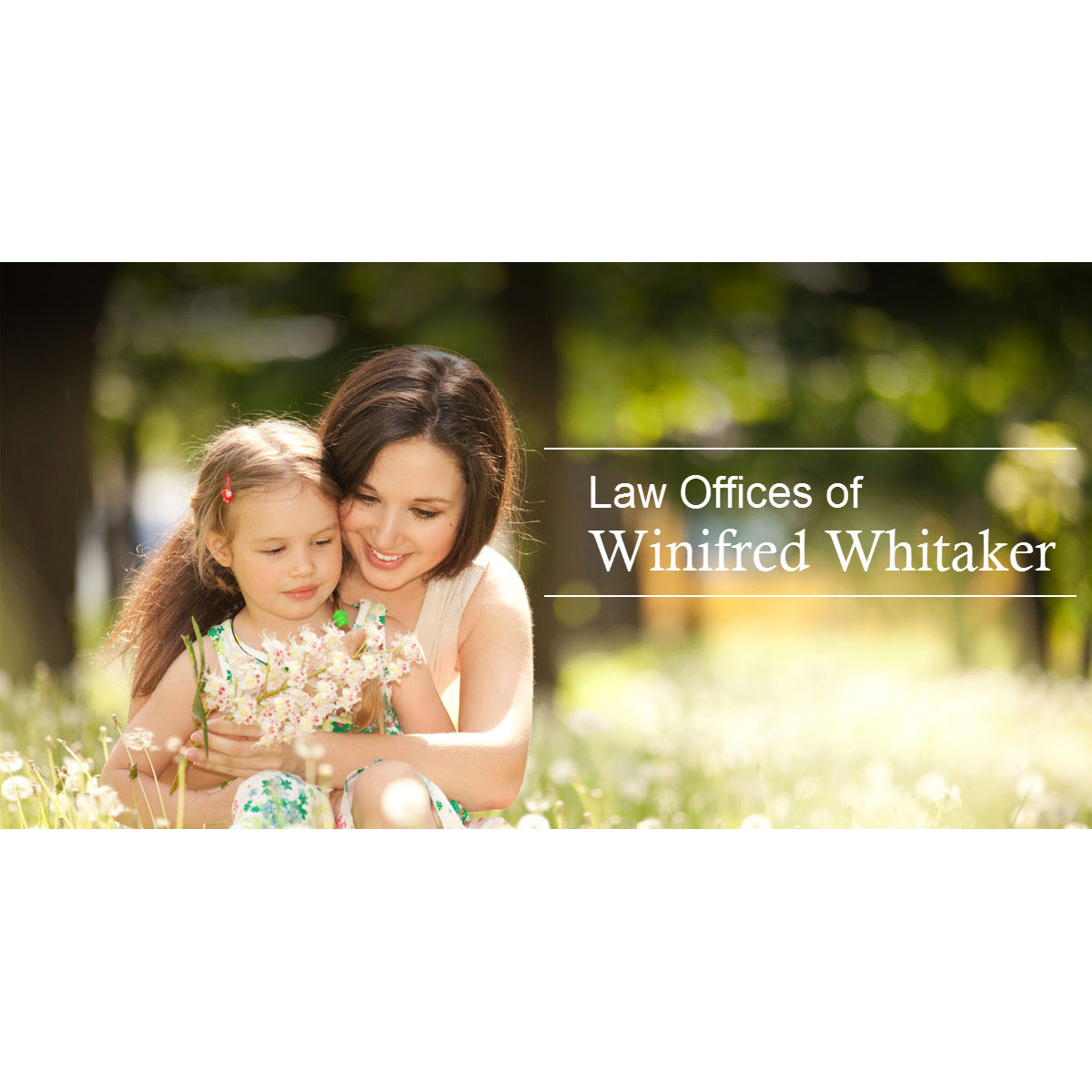 Law Offices of Winifred Whitaker - ad image