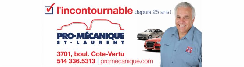 Pro Mécanique St-Laurent à Saint-Laurent