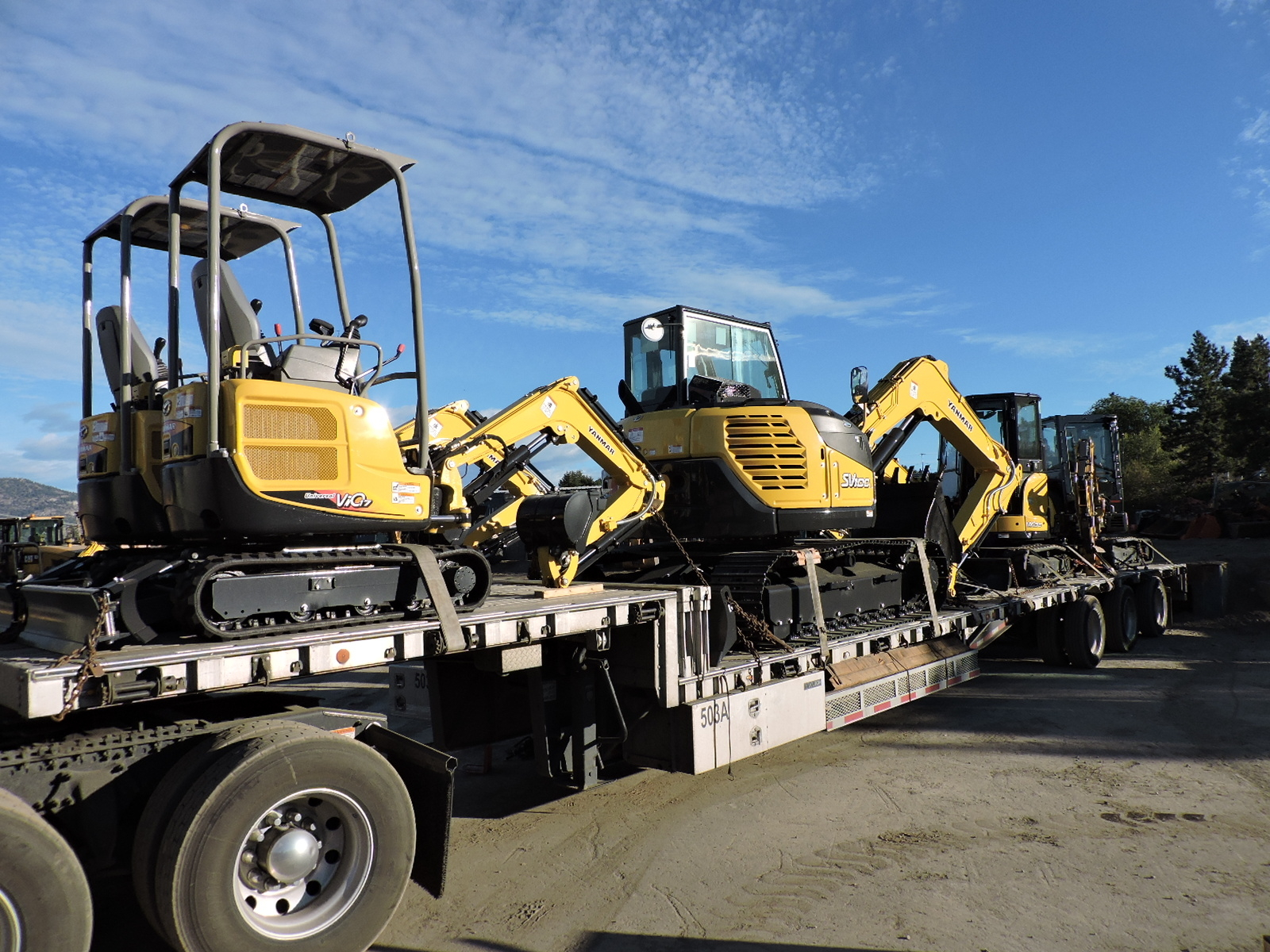 Pacific Rim Equipment Inc in Penticton: We have lots of Yanmar Mini Excavators (available for rent and sale) for those smaller jobs.