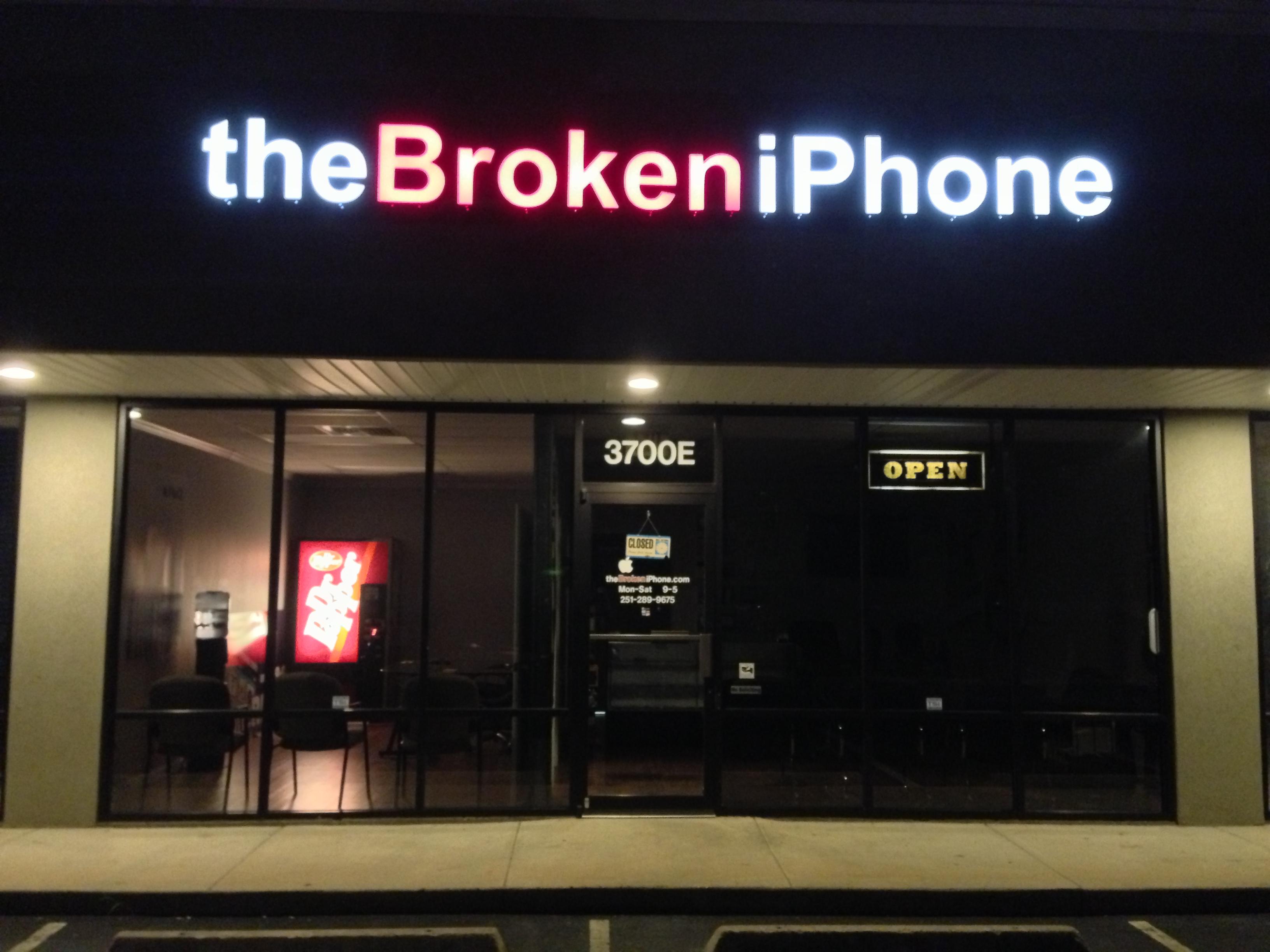 The Broken Iphone Mobile Alabama