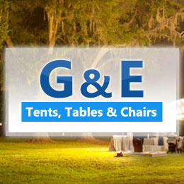 G & E Tents, Tables & Chairs