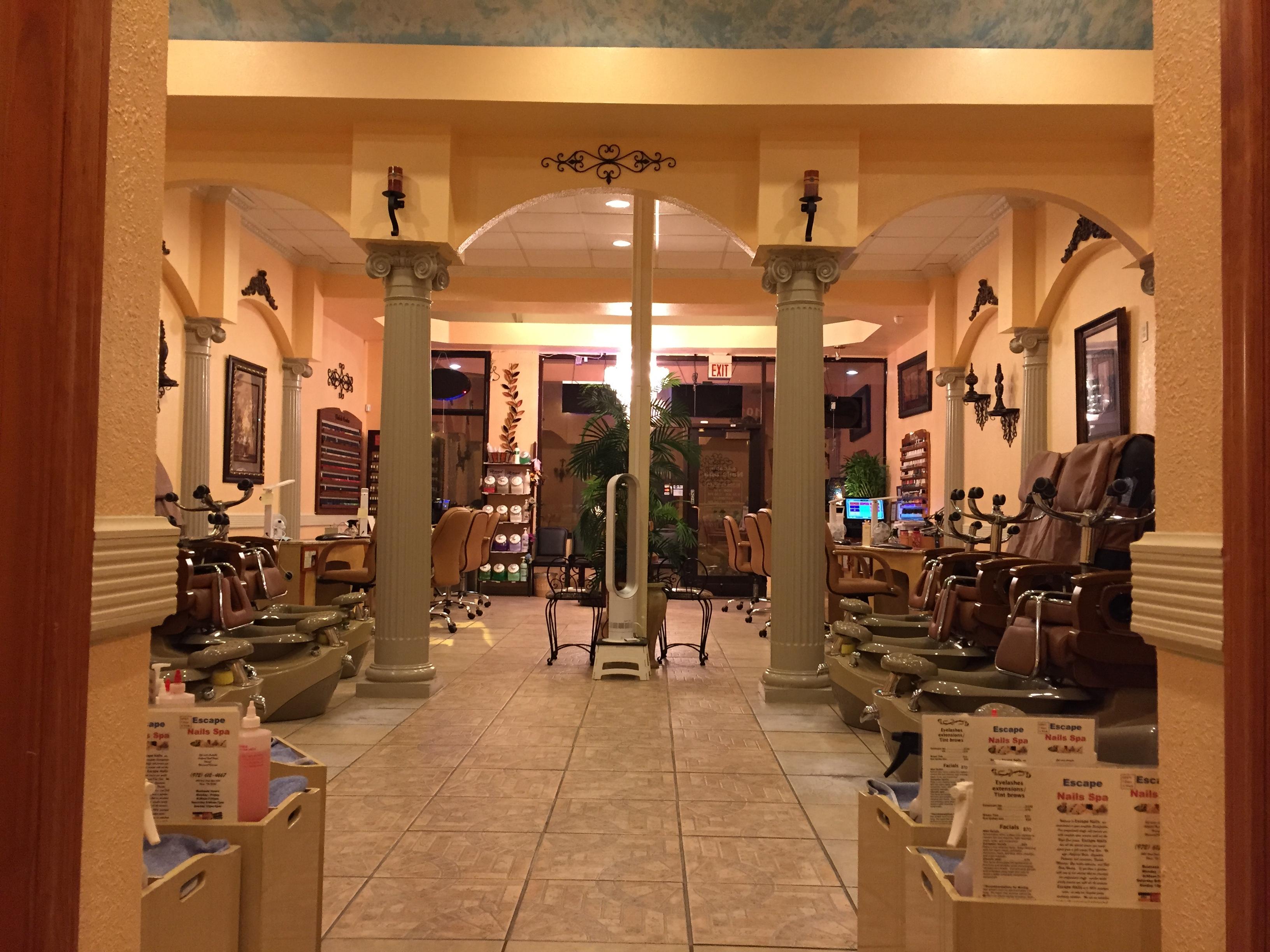 Escape Nails Spa 4621 West Park Blvd 101 Plano TX Manicurists