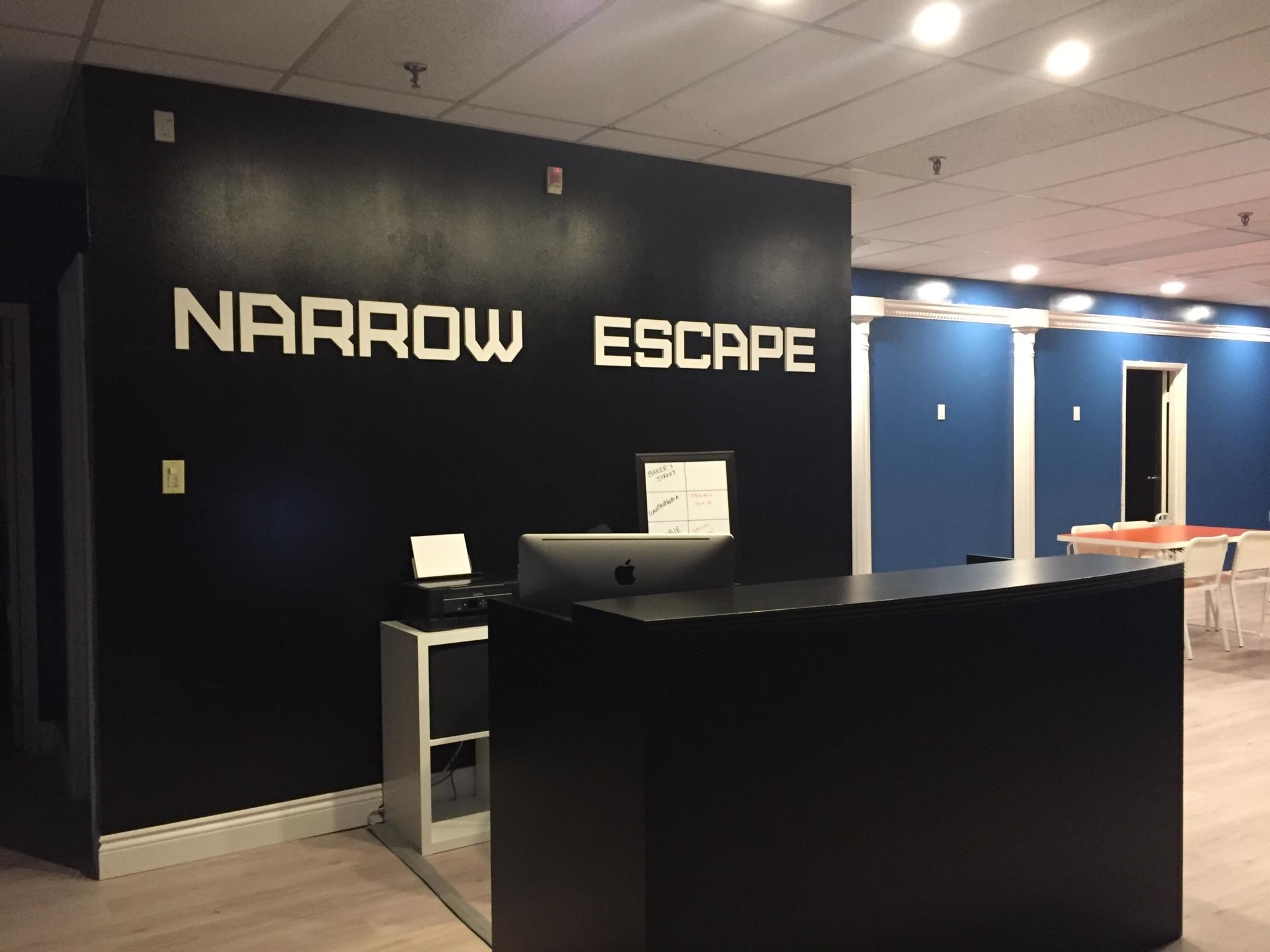 narrow escape Narrow : la traduzione del dizionario hoepli inglese-italiano scopri i nostri dizionari di italiano, inglese e l'enciclopedia zanichelli.