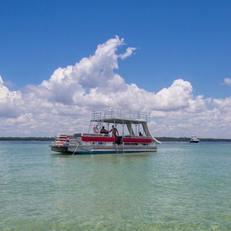 Shell Island Pontoon Rentals image 0