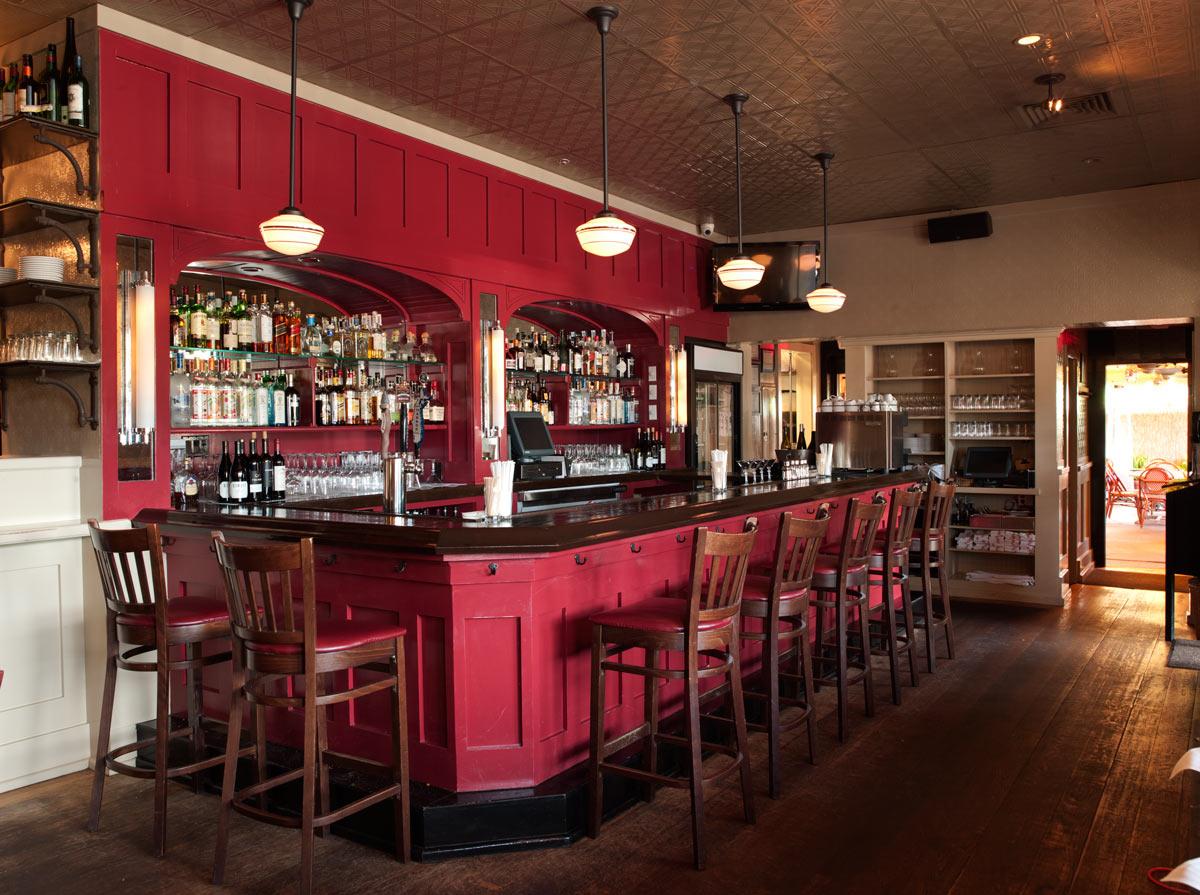 Little Red Bar Restaurant Southampton Ny