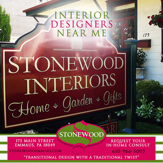 Stonewood interiors emmaus pa company profile for Interior design companies near me