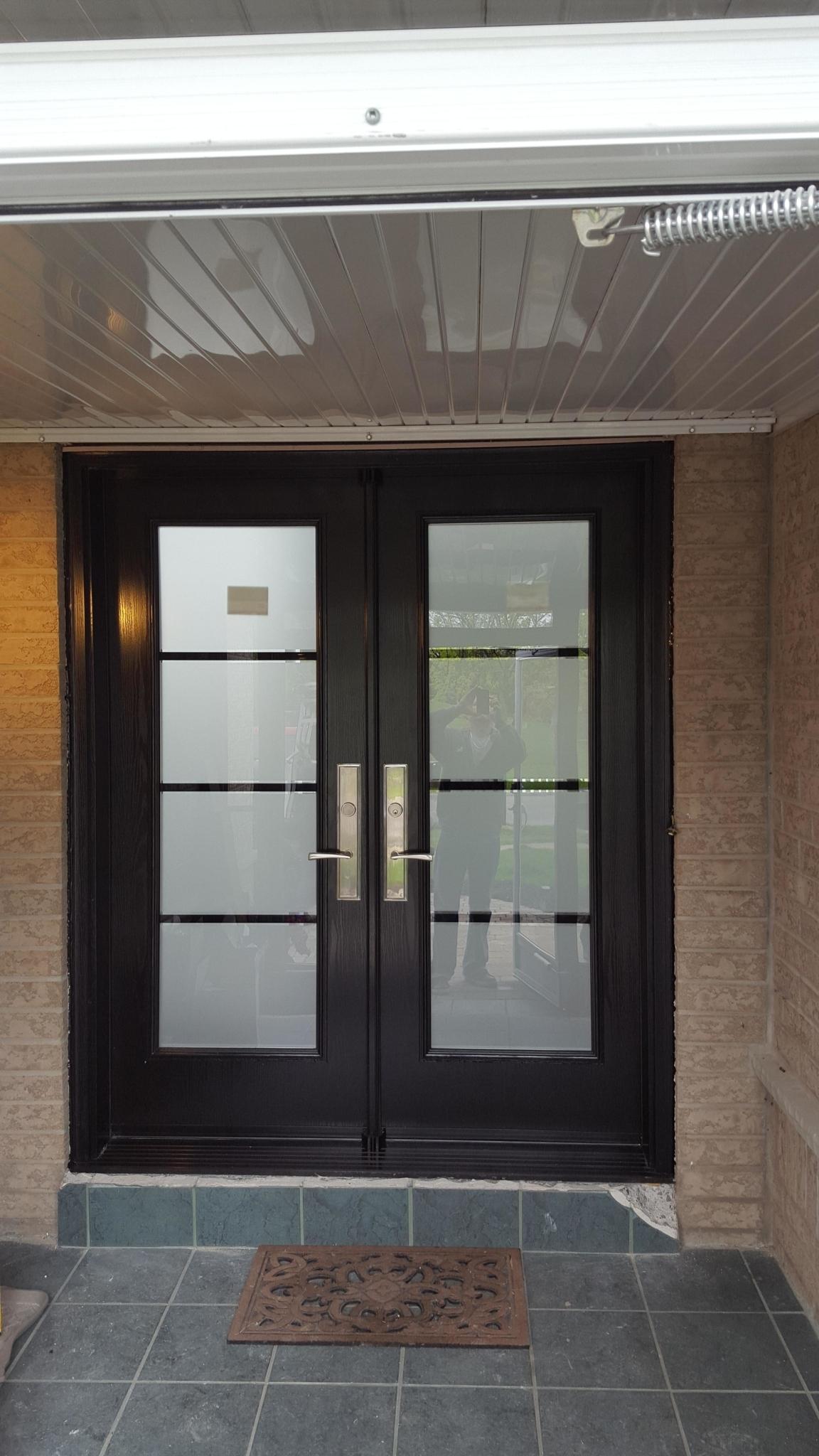 York aluminum storm strom doors vinyl clad self for Vinyl storm doors