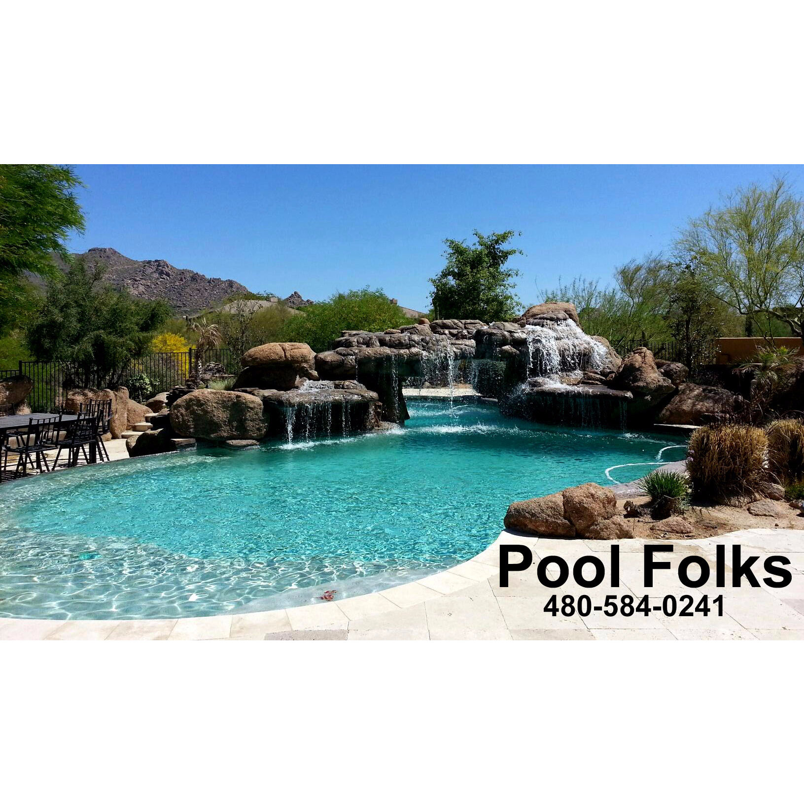 Pool Folks In Scottsdale Az 480 584 0