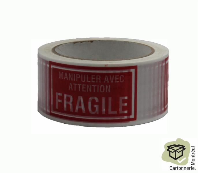 Cartonnerie Montréal Inc à Montréal: Fragile tape