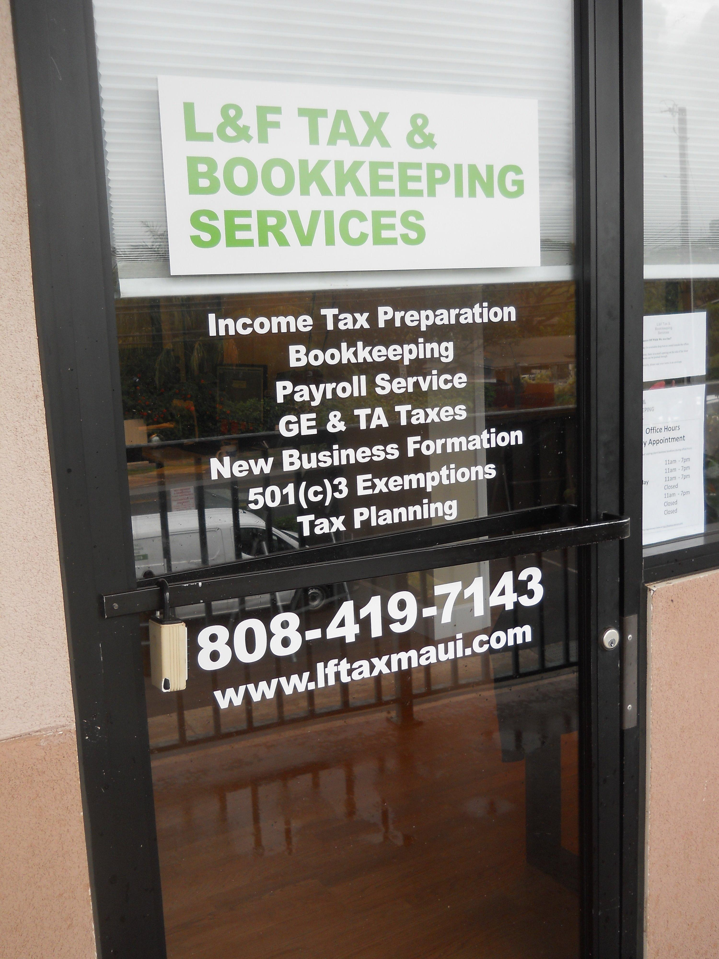 L&F Tax & Bookkeeping Services image 0