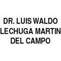 Dr. Luis Waldo Lechuga Martin Del Campo