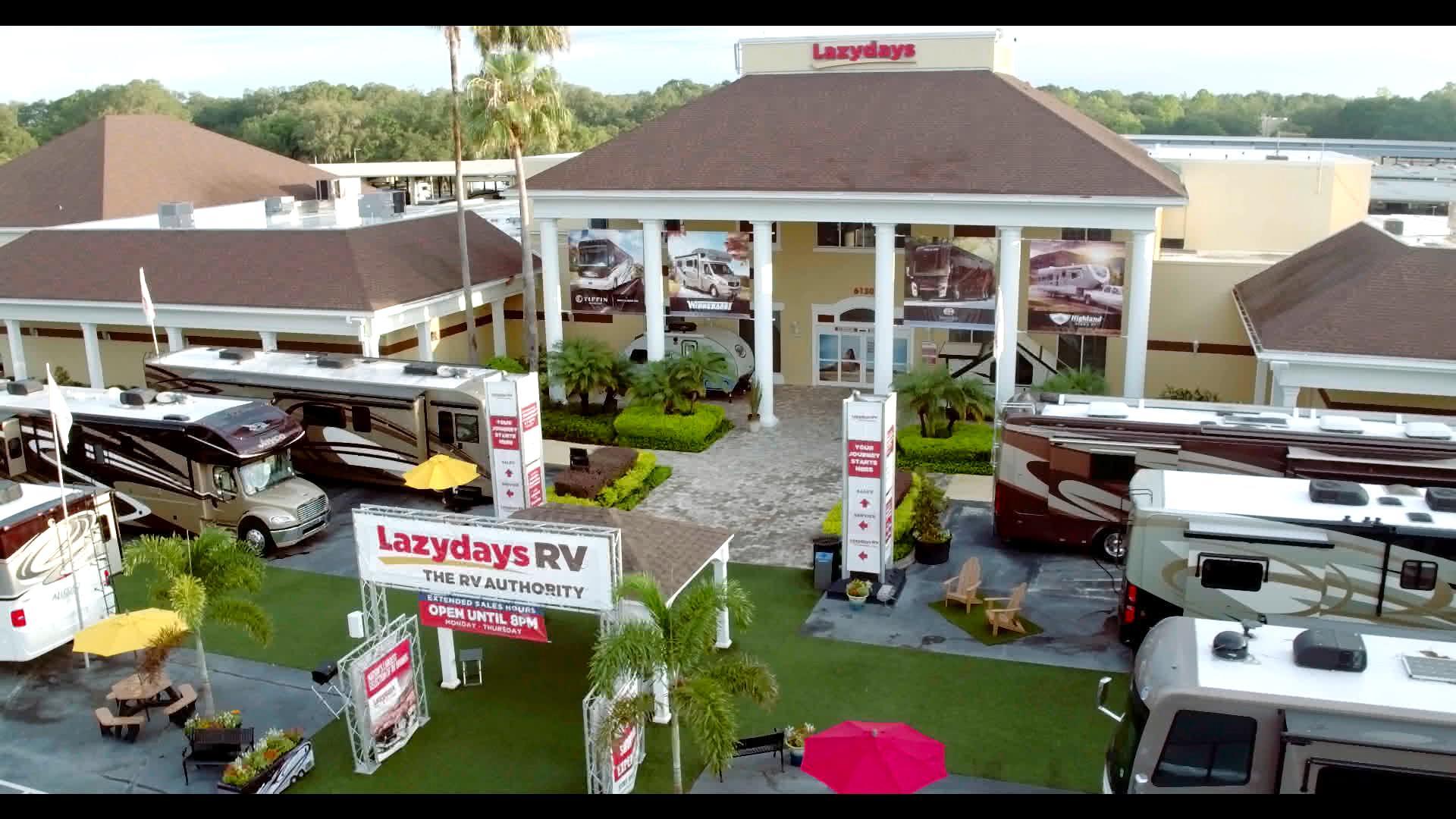 Lazydays RV of Tampa 18 Lazy Days Boulevard Seffner, FL RV ...