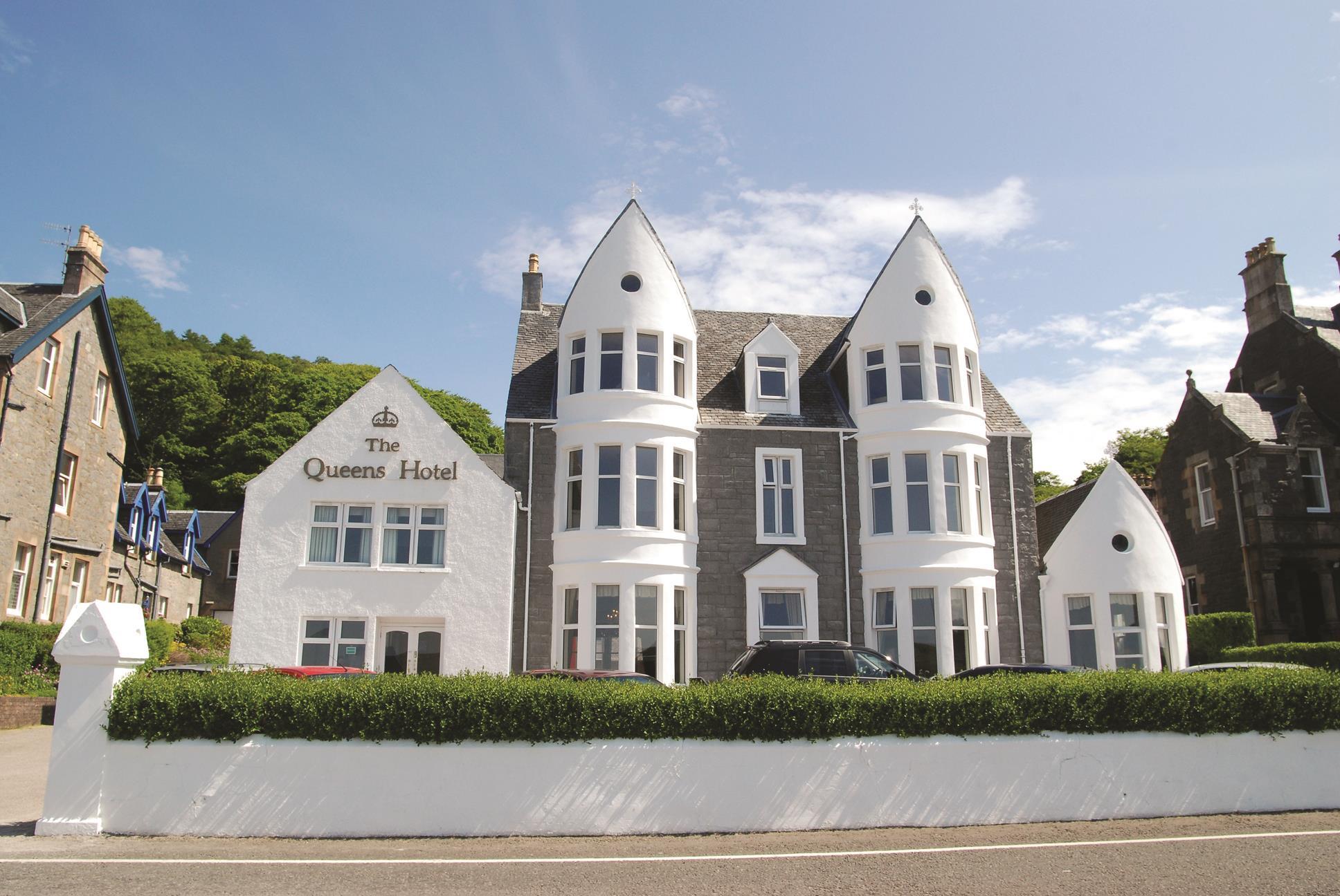 Best Western The Queens Hotel Hotels In Oban Lochaline Pa34 5ag