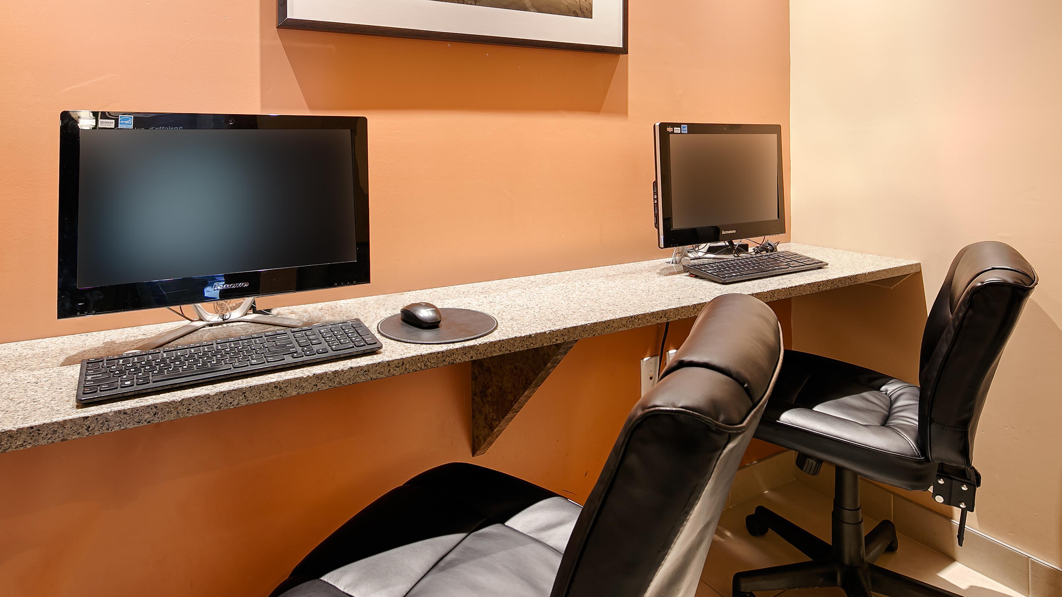 Best Western Plus Gatineau-Ottawa à Gatineau: Business Center