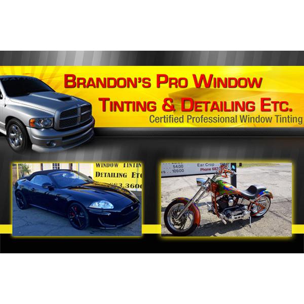 Brandon's Pro Window Tinting & Detailing