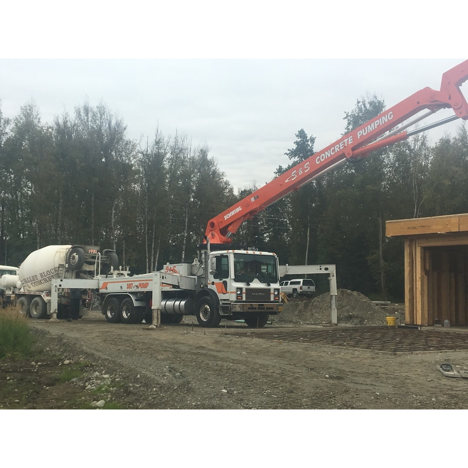 S  and  S Concrete Pumping