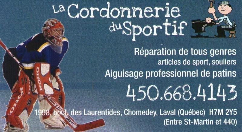 La Cordonnerie du Sportif à Laval