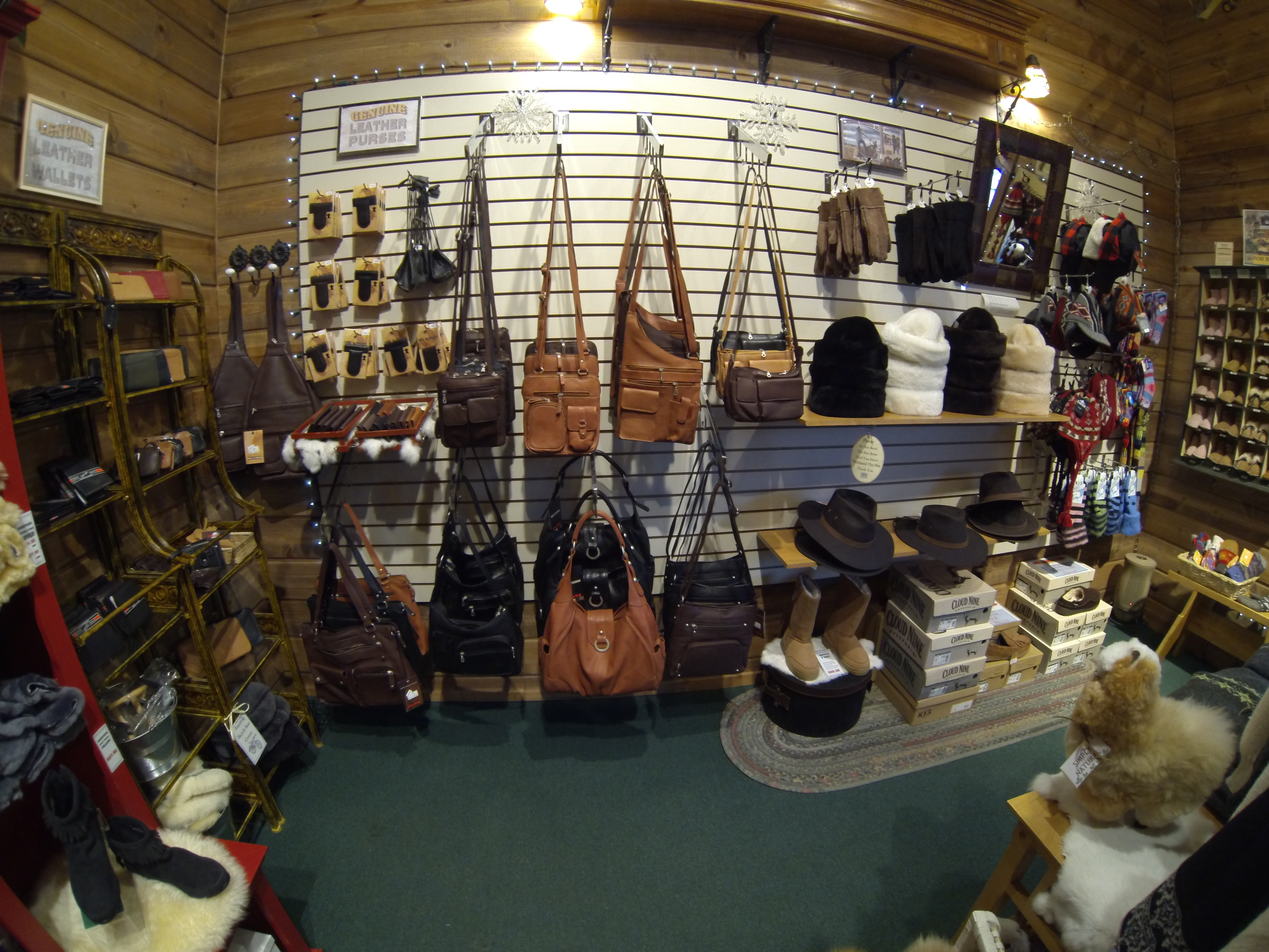 Auggie's Sheepskin, Leather Goods and Gifts