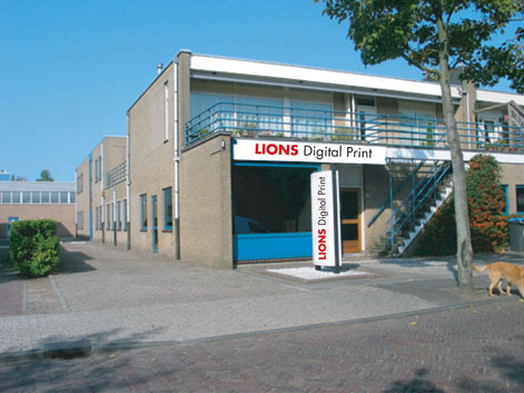 Lions Digital Print