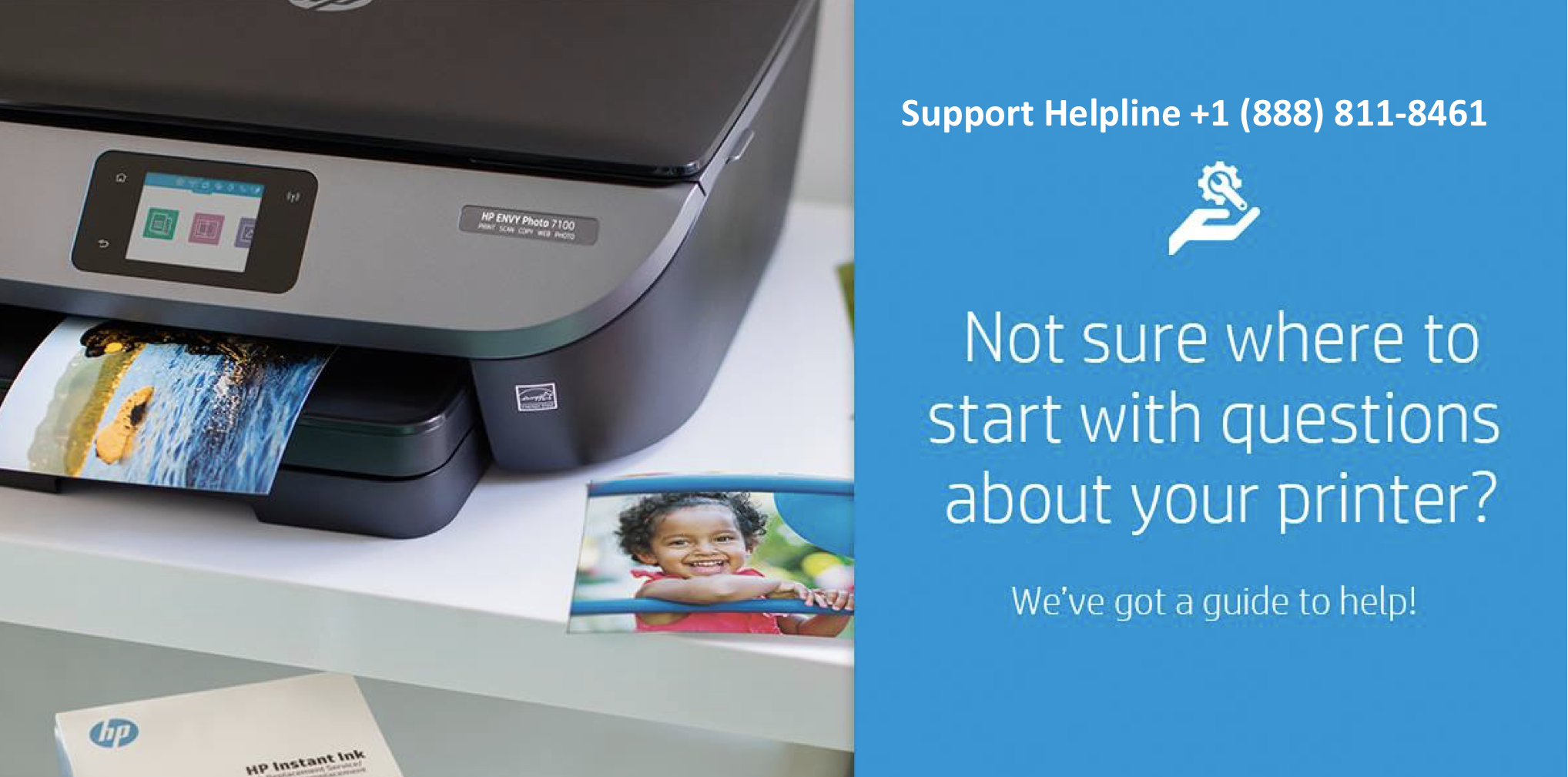 Hp Printer Support Number image 1
