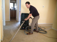 On site carpet cleaning pic