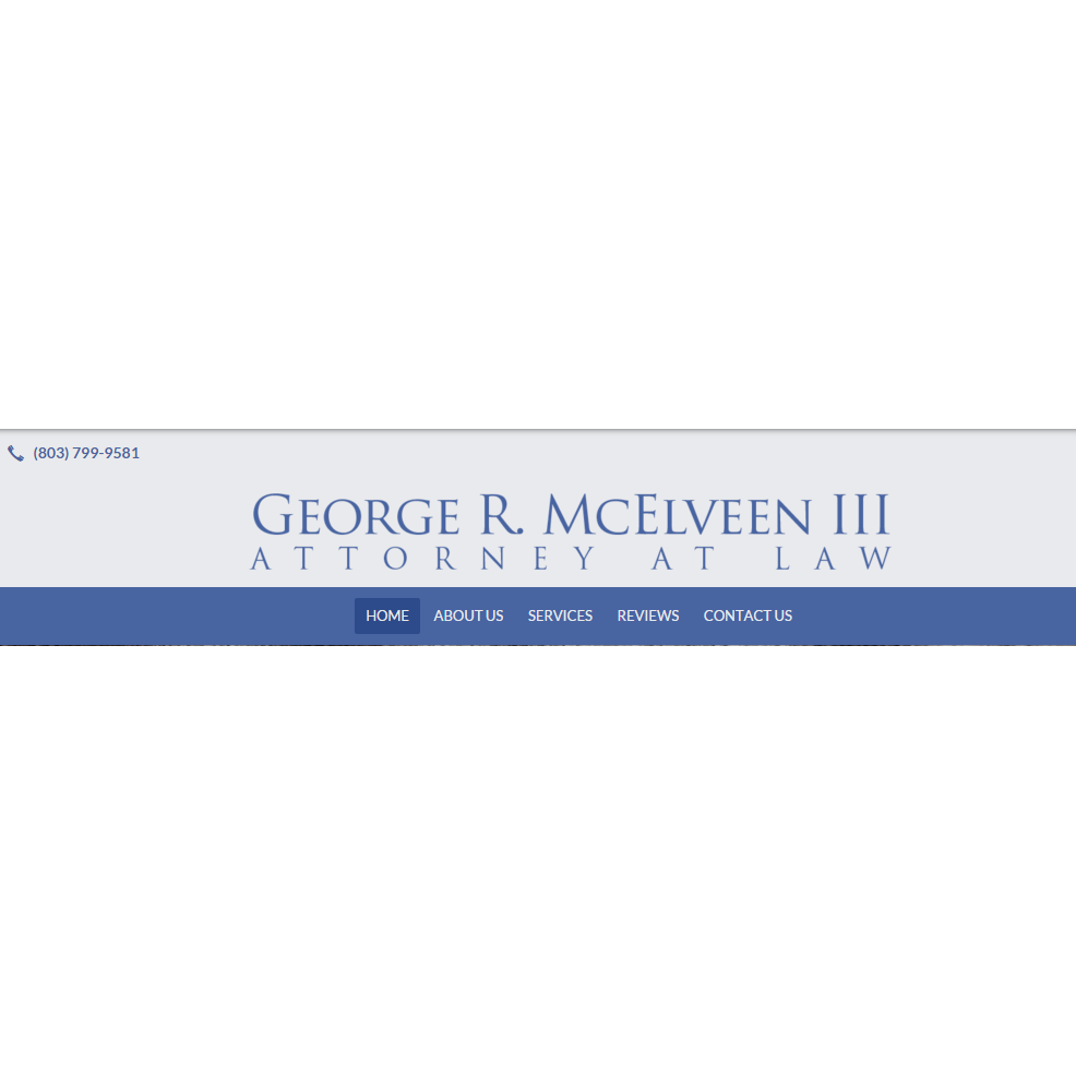 George R. McElveen III, Attorney At Law