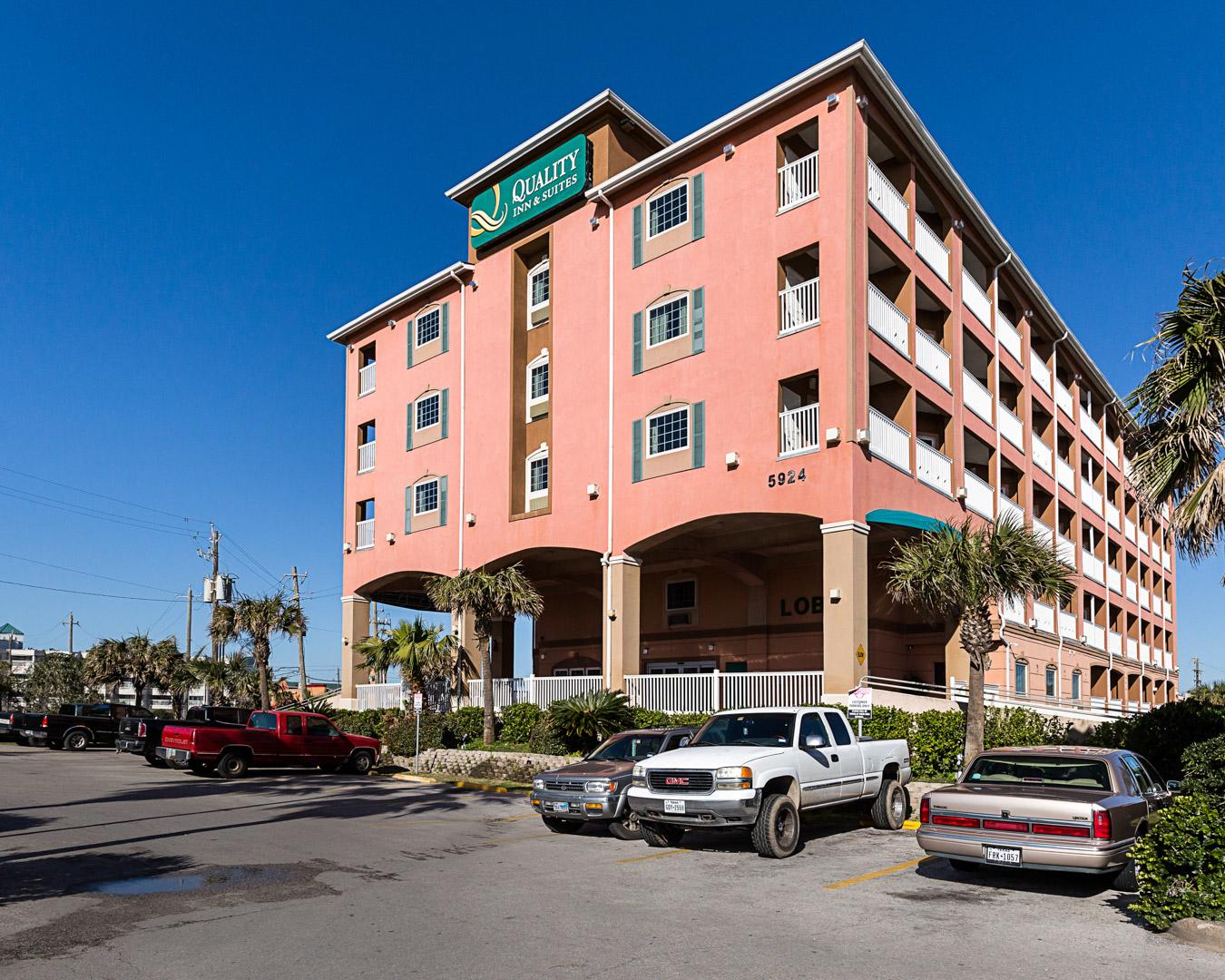 Quality Inn Amp Suites Beachfront Coupons Galveston Tx Near