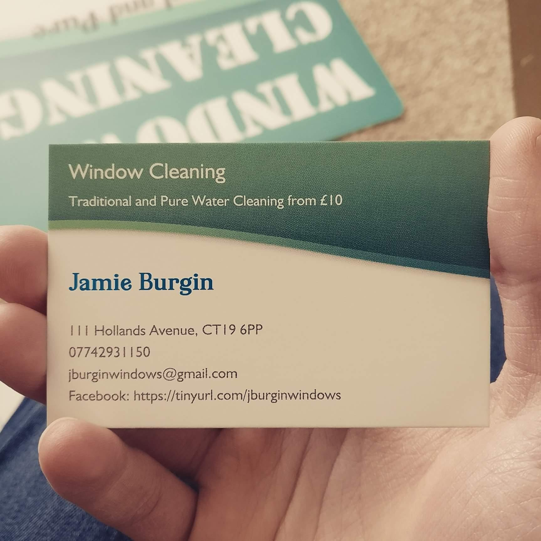 j burgin pure window cleaning cleaning contracting domestic in