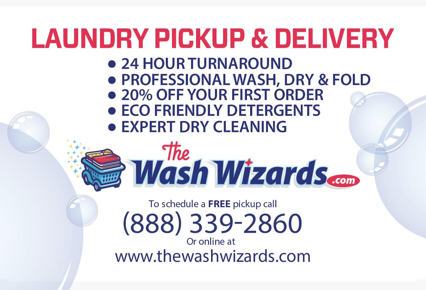 Wash Wizards Laundry Pickup & Delivery Service - Oxnard image 13