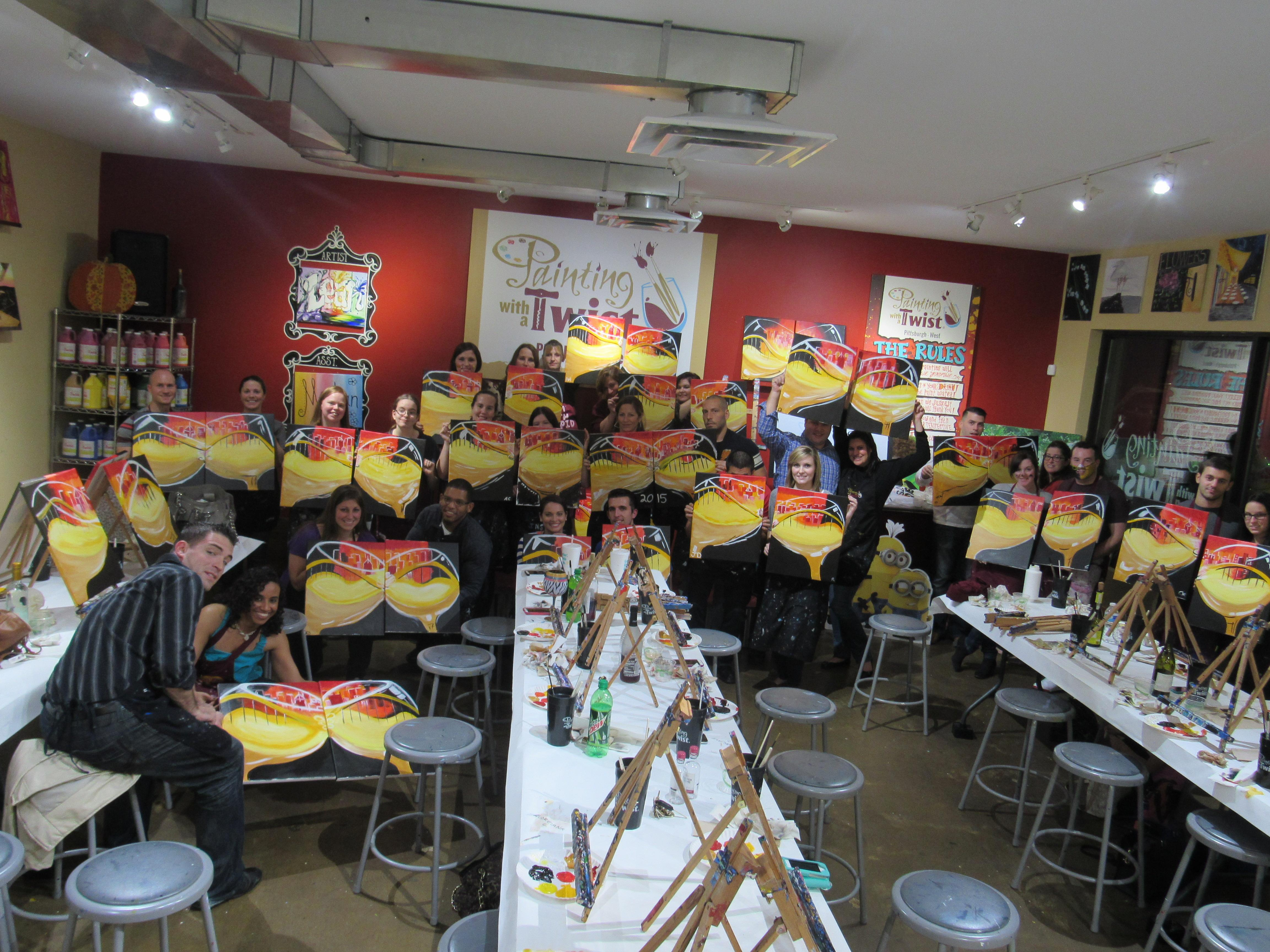 Painting With A Twist 5994 Steubenville Pike Suite G Robinson