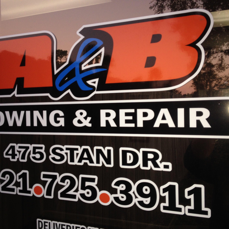 A & B Towing and Repairs ,LLC