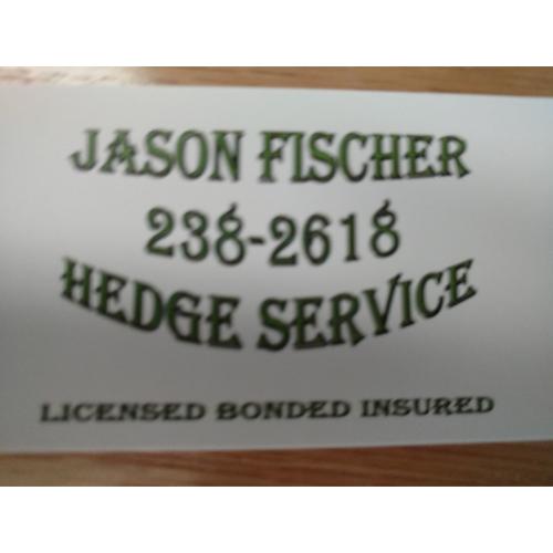Jason Fischer Hedge Service image 4