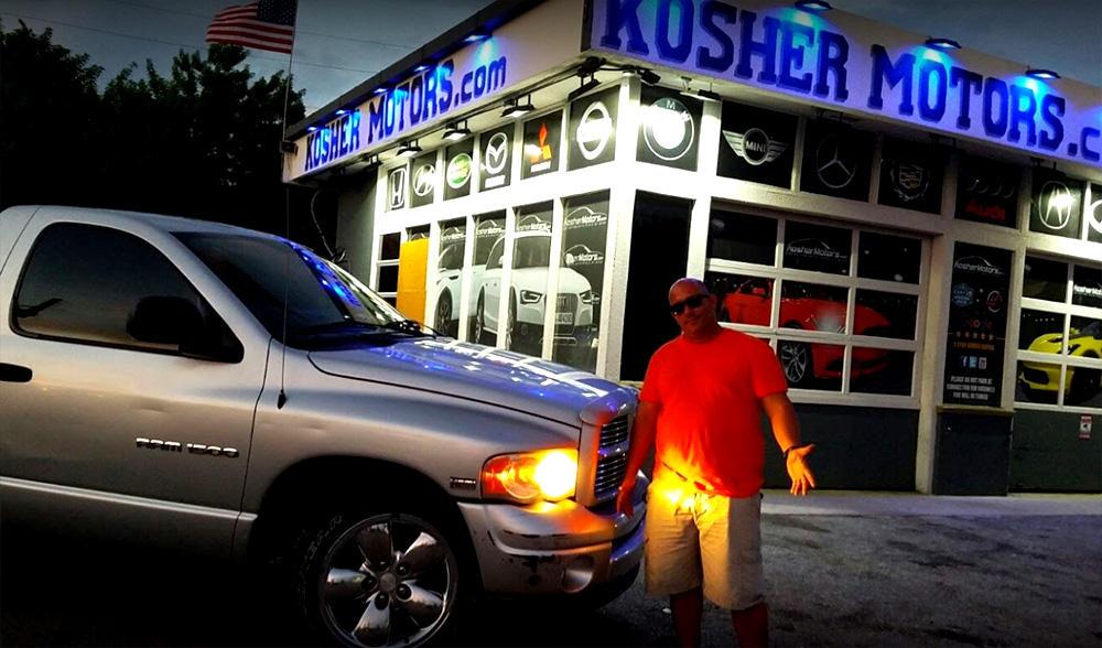 Kosher Motors Used Car Dealership Hollywood Florida