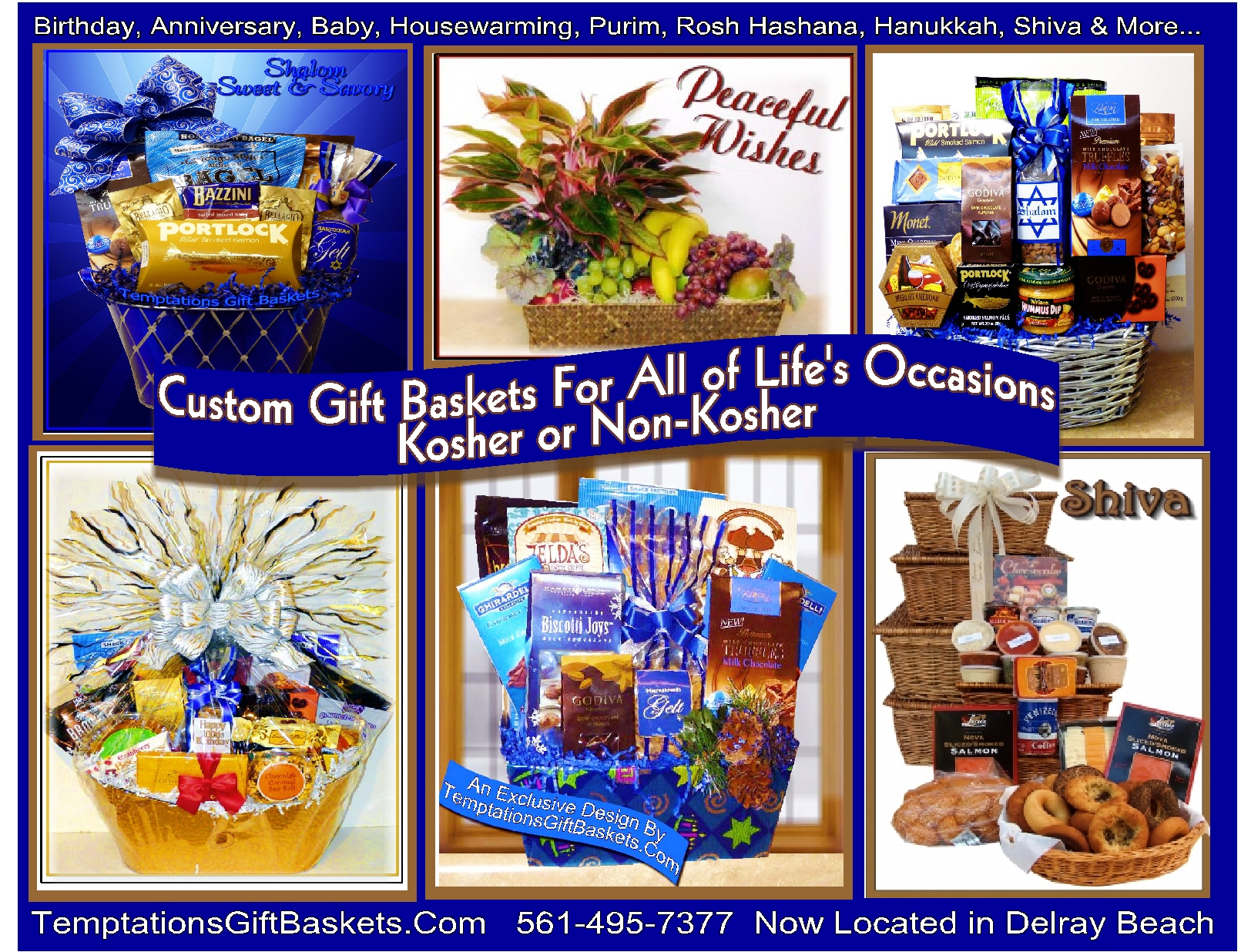 Kosher gourmet gift baskets order online temptations gift days until sunday the 1st of january httptemptationsgiftbasketshanukkah chanukkah kosher gift baskets giftsp temptationsgiftbaskets negle Images