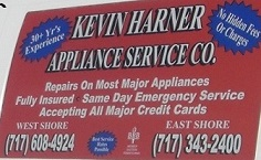 Kevin Harner Appliance Service Company image 0