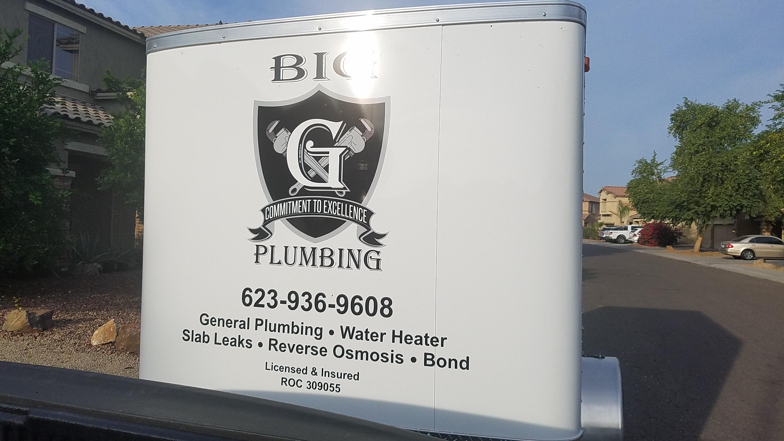 Big G Plumbing LLC image 1