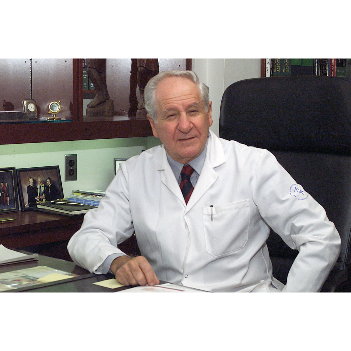 Image For Dr. Leslie H. Blumgart MD